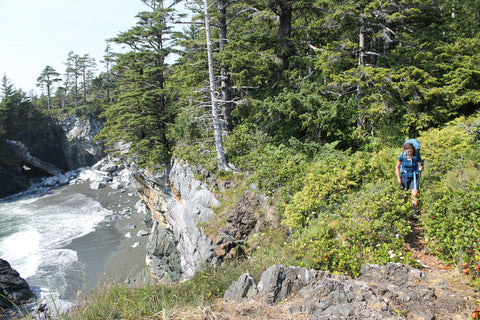 Near Maquinna Point, Nootka Trail