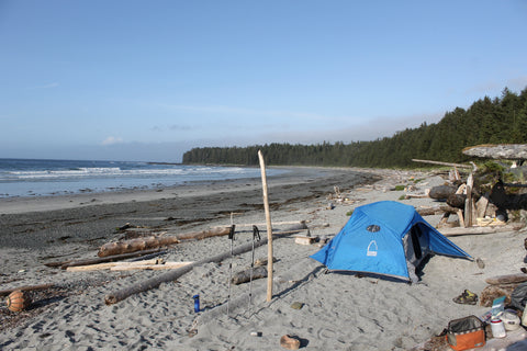 North Coast Trail's end, Nissen Bight