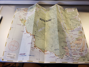 204 Nootka Island Kayaking and Boating Map