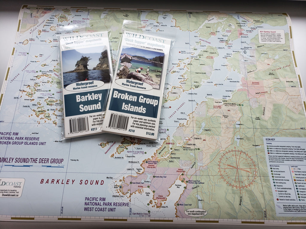 605 Barkley Sound/Broken Group Island Mapsheet Bundle