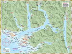 Nuchatlitz and Nootka kayaking map