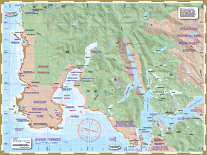 206 Hesquiat Peninsula Coast and Trail Map
