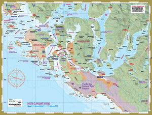 208 South Clayoquot Sound Kayaking and Boating Map