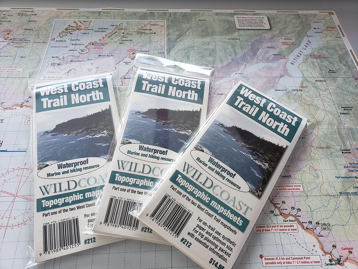 212 West Coast Trail North Trail and Marine Map