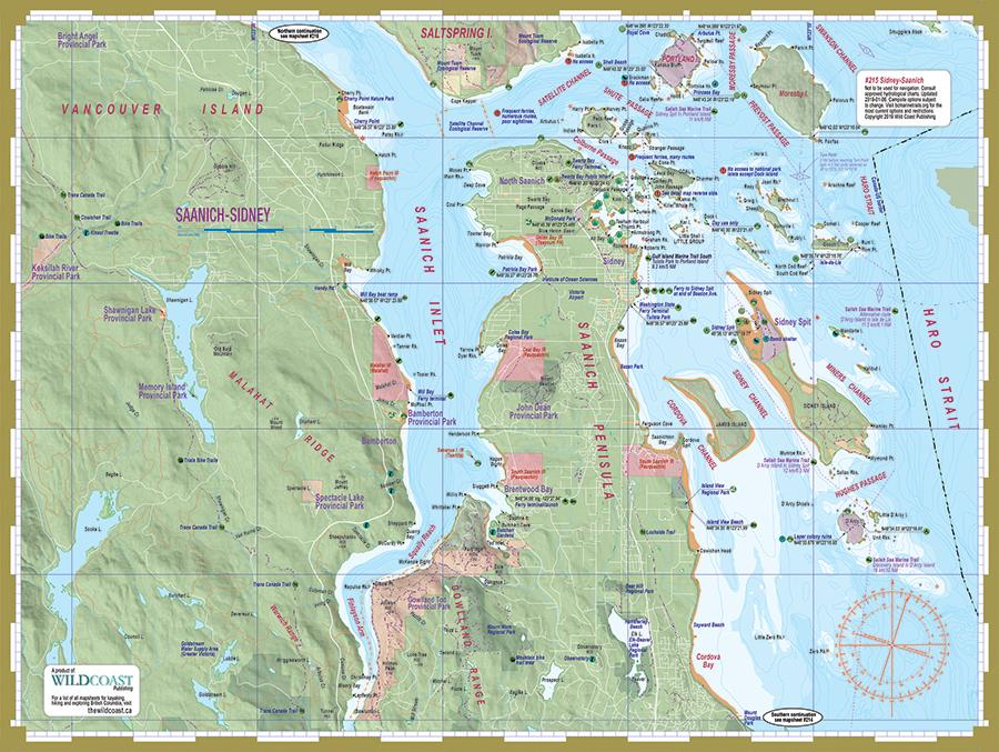 602 Gulf Islands Mapsheet Bundle