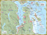 216 Saanich-Sidney Kayaking and Boating Map
