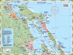 219 North Gulf Islands Kayaking and Boating Map