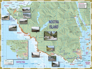 406 Nootka Trail Topographic Hiking Map