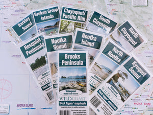607 West Coast Vancouver Island Expedition Mapsheet Bundle
