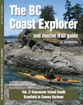 BC coast kayaking guide book