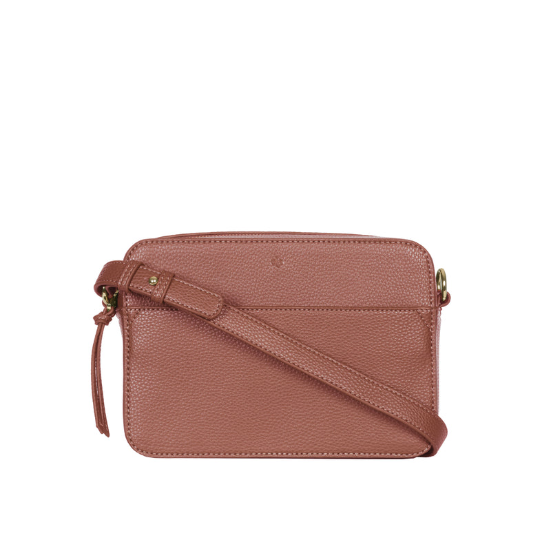 Mini Bloom Bag – Caramel Pebble