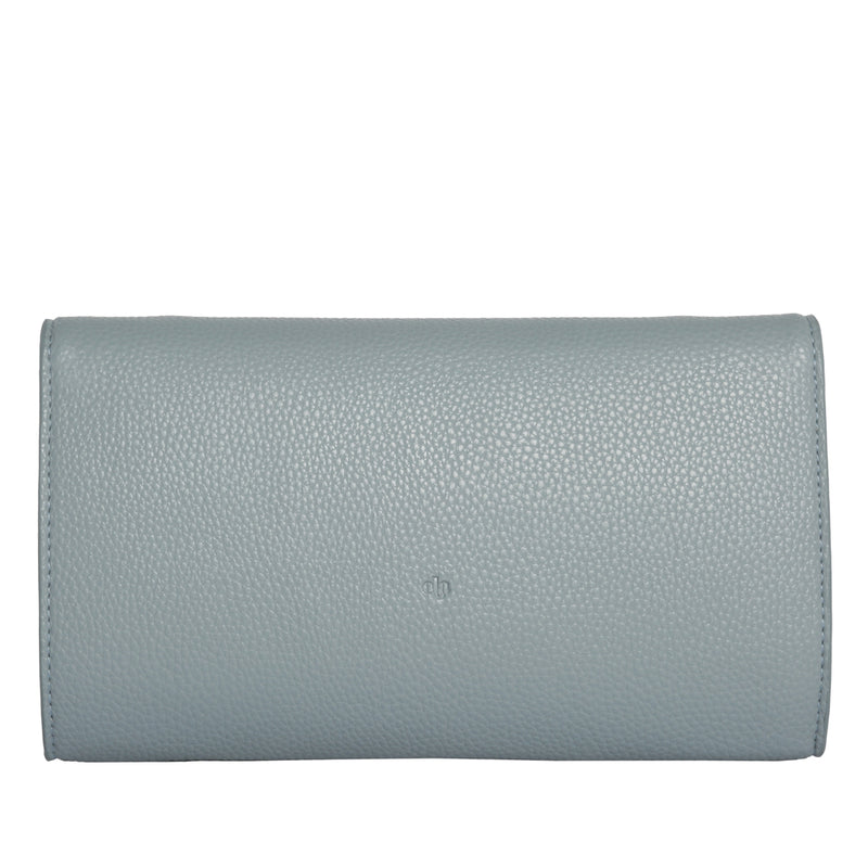 MILCK Clutch – Blue Pebble