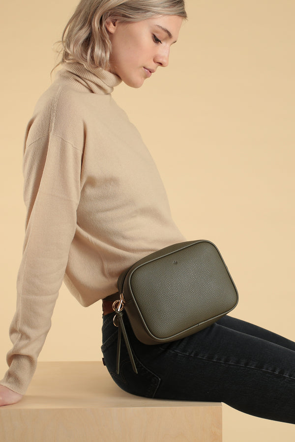 Belt Bag – Khaki Pebble