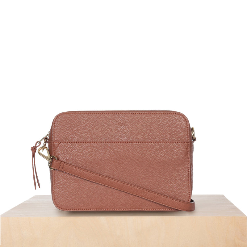 Bloom Bag – Caramel Pebble