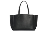 Large Tote – Black Pebble