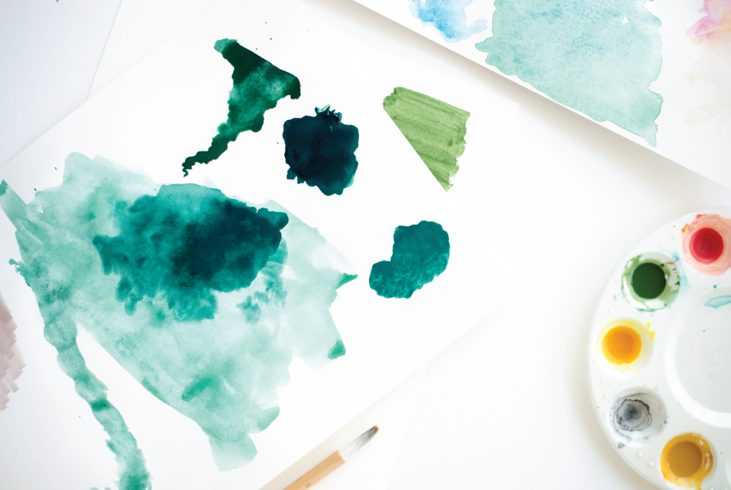 chic color: deep inky green