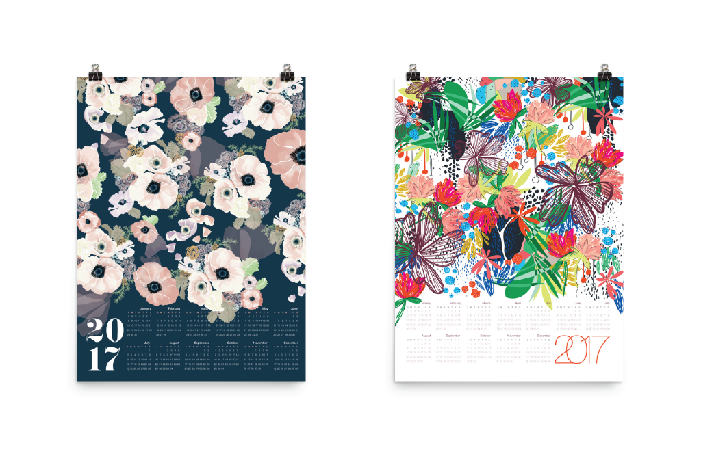 kah shop: canvas calendars are back!