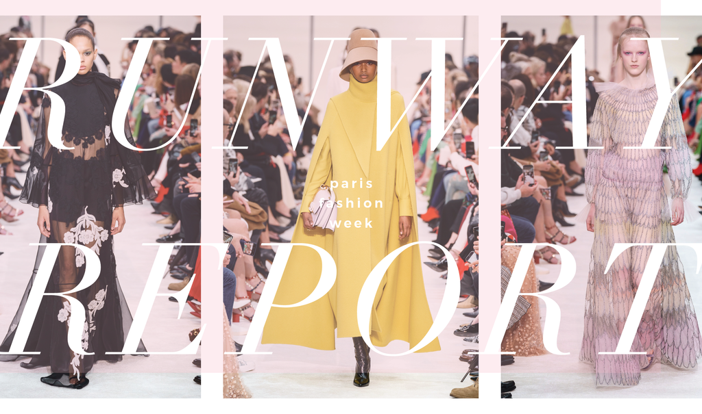 paris fashion week, rtw, trend report, runwayreport, valentino paris fashion week, chanel fashion week, alexander mcqueen paris ready to wear 2019,