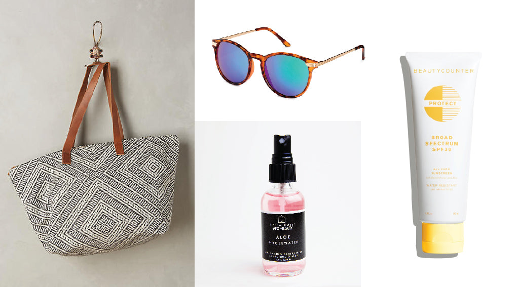 beach essentials round up