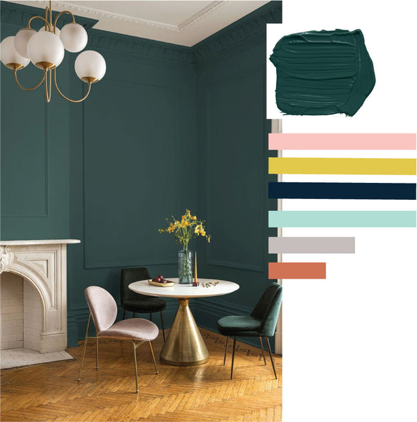 ppg paint night shade color of the year 2019