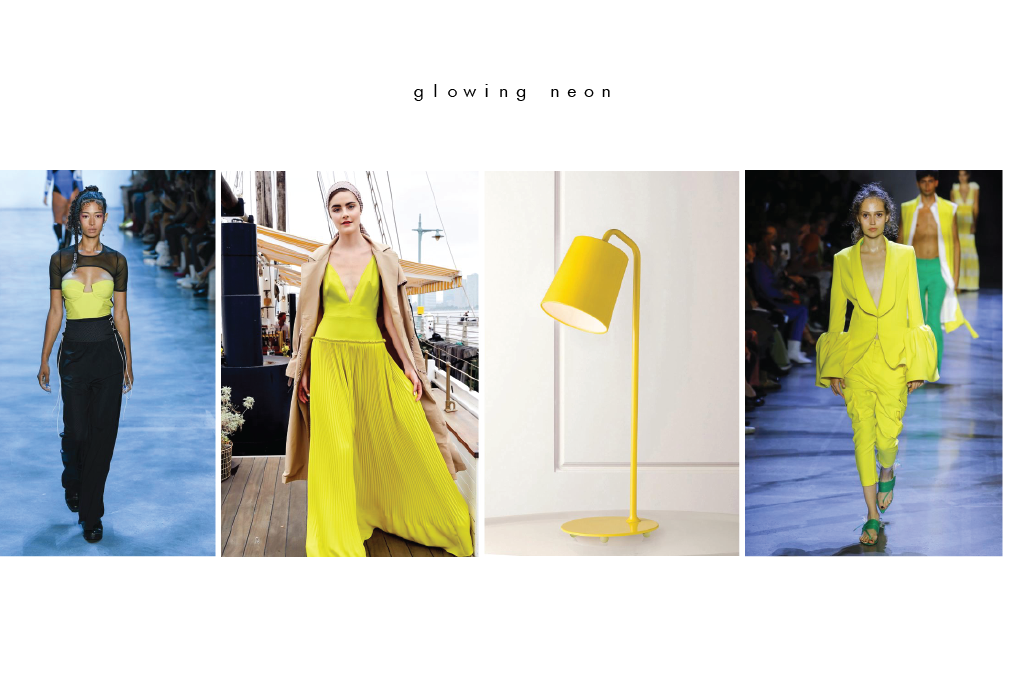 spring summer 2019 neon yellow