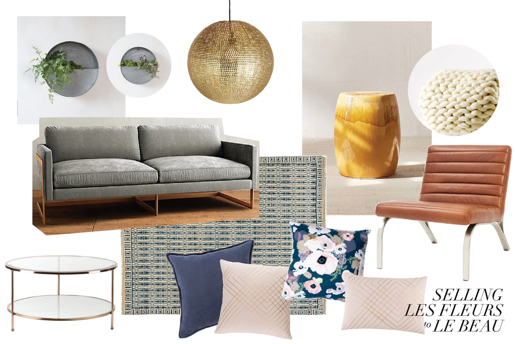 combining masculine and feminine, living room ideas
