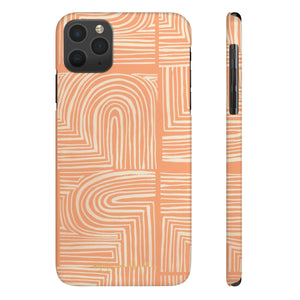 Cava Melon Sleek and Chic Phone Case