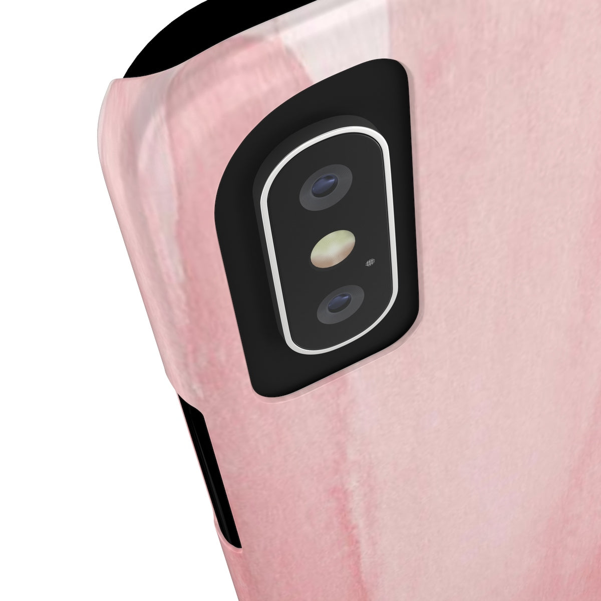 Blush Color Cap Sleek and Chic Phone Case