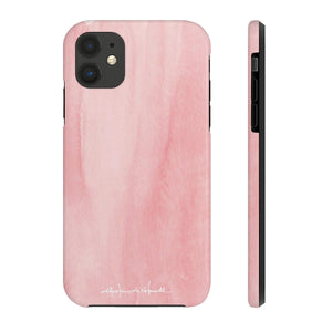 Blush Color Cap Added Amour Phone Case