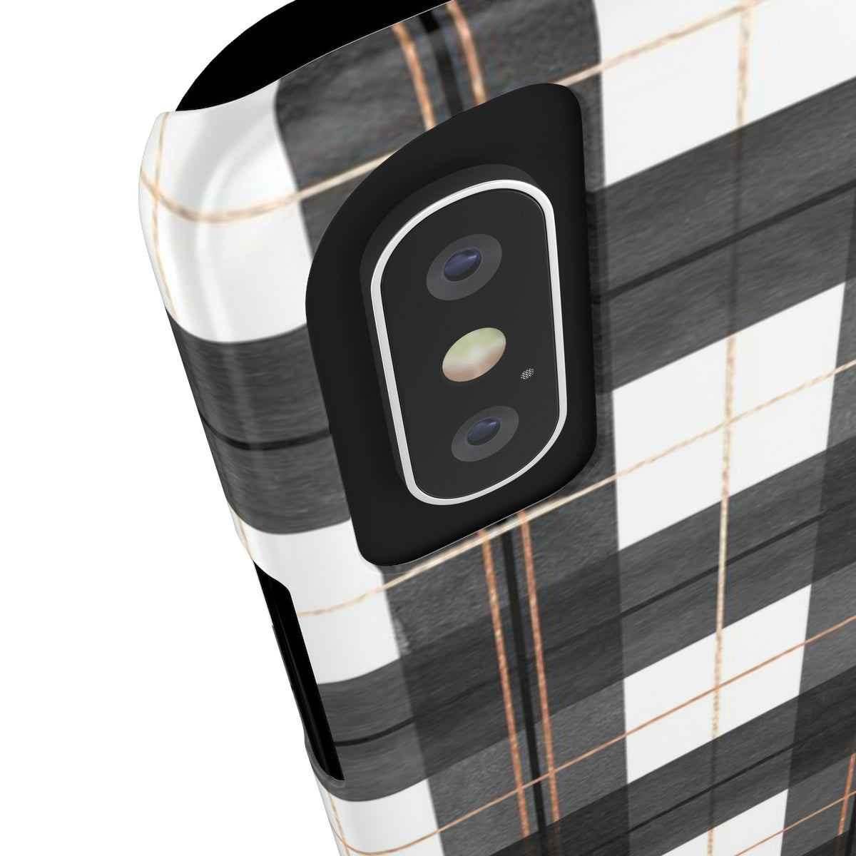 Buffalo Plaid Sleek and Chic Phone Case