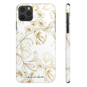 Ansley Park White Sleek and Chic Phone Case