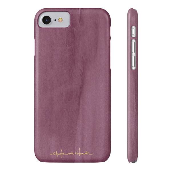 Plum Color Cap Phone Case
