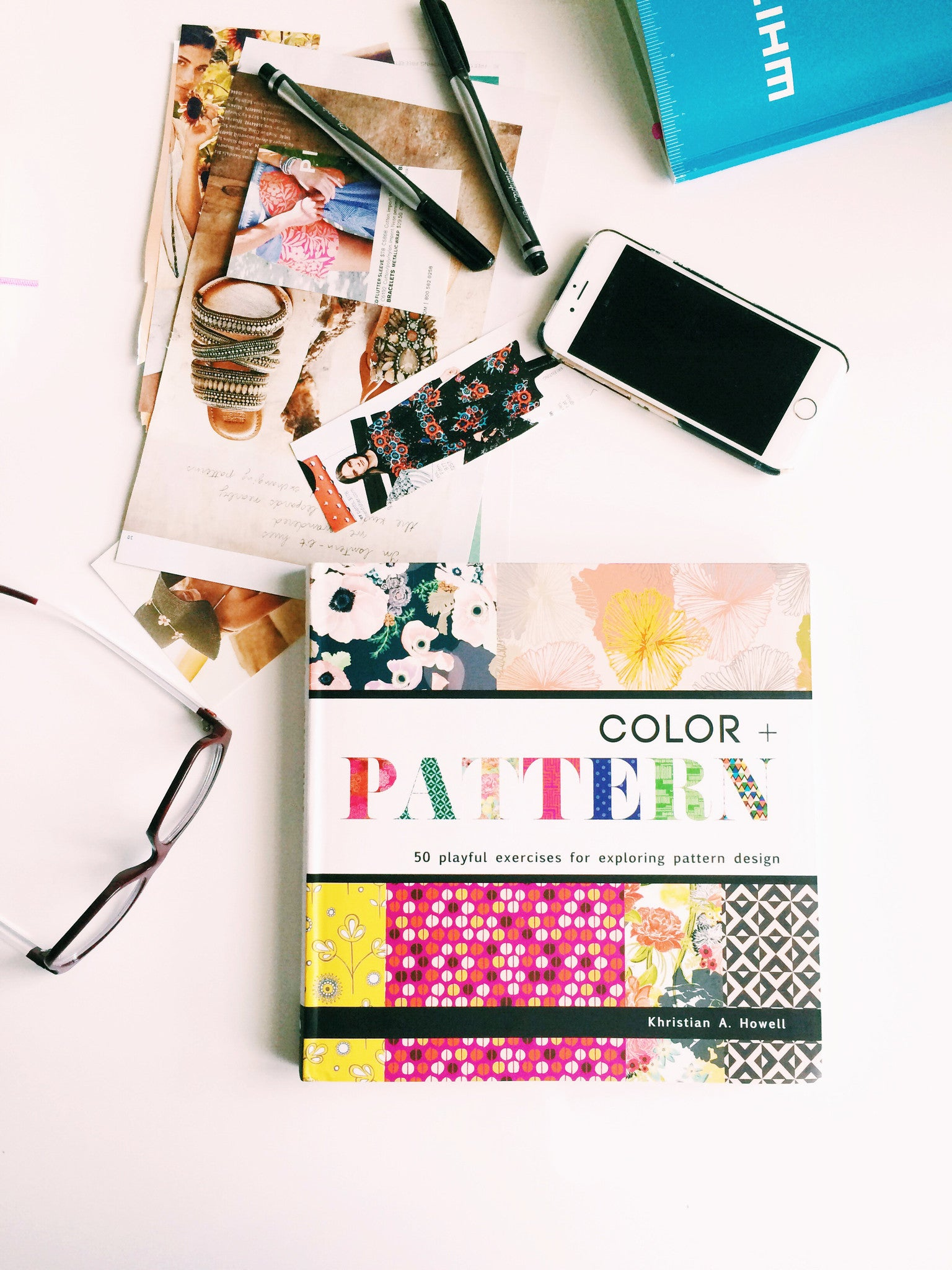 Color + Pattern: 50 Playful Exercises for Exploring Pattern Design | Khristian A. Howell modern home decor online, original pattern designs, exclusive home decor designs