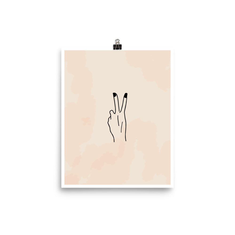 Deuces Art Print | Khristian A. Howell exclusive wall art prints, unique design art prints, boho chic bedroom decor, boho apartment decor