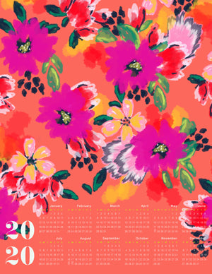 Dolce 2020 Large Canvas Calendar