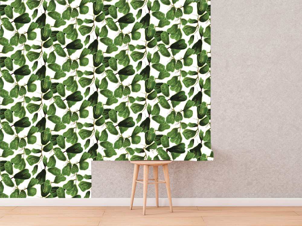 Fig Life Wallpaper | Khristian A. Howell boho bedroom decor, vintage modern style wallpaper, modern home decor online, cute pattern wallpaper