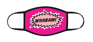 Whabam! Pink Face Mask - to Benefit NO KID HUNGRY