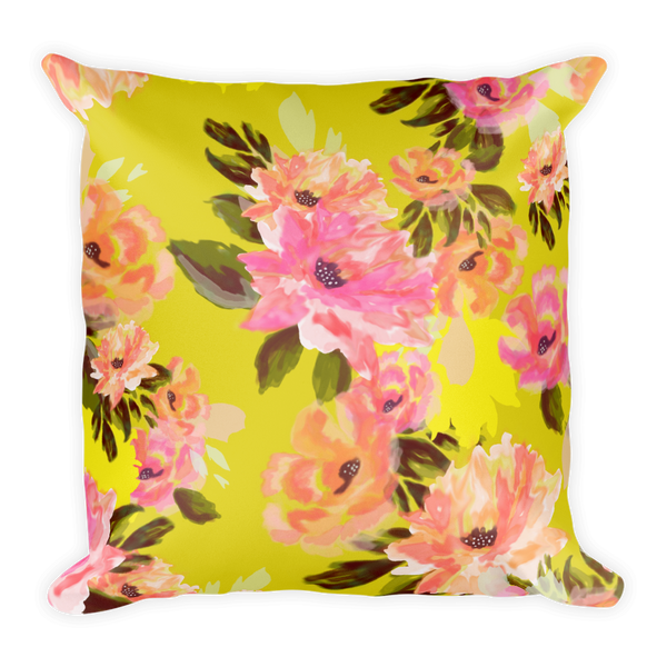 Analucia Throw Pillow (with or without insert)