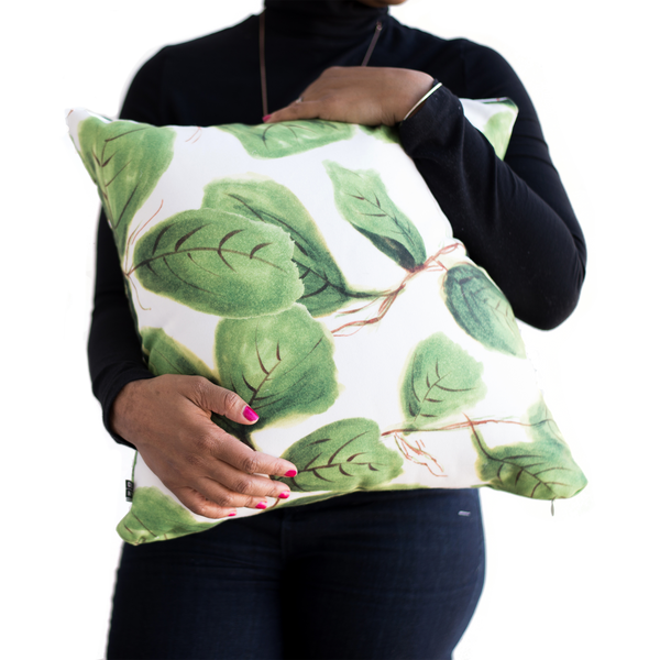 Fig Life Throw Pillow (with or without insert)