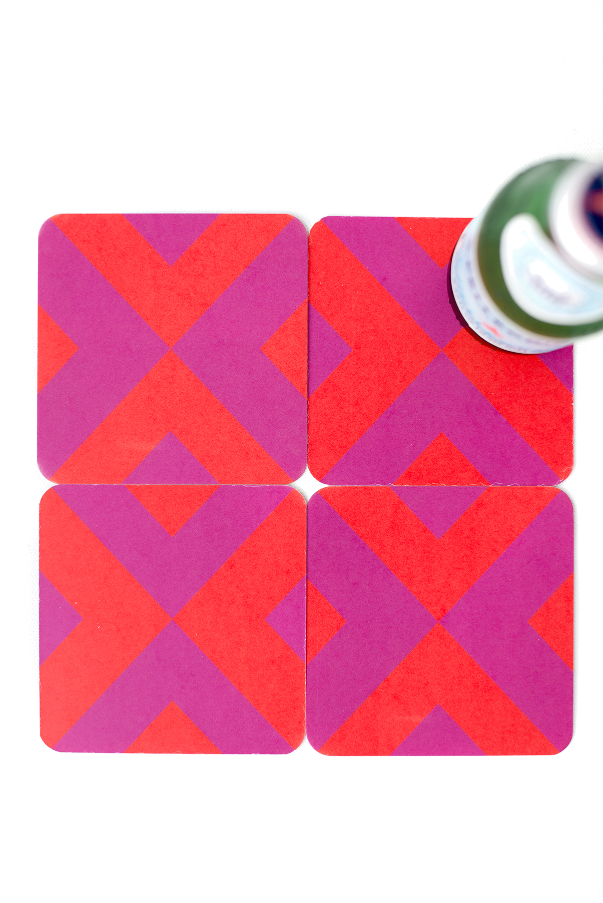 Ninette Coaster Set | Khristian A. Howell modern home decor online, original pattern designs, exclusive home decor designs