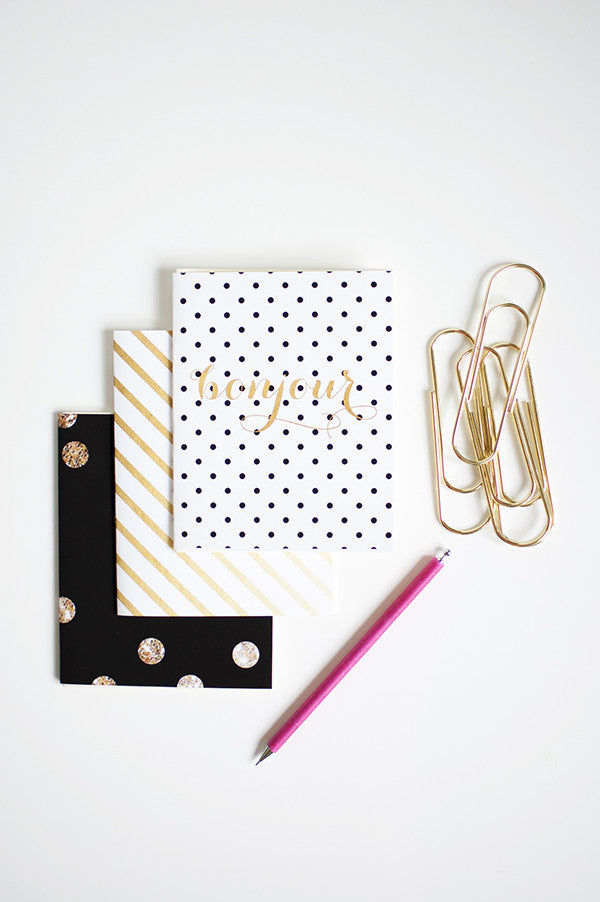Sante Jotter Pack | Khristian A. Howell modern home decor online, original pattern designs, exclusive home decor designs