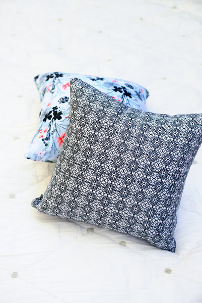 Tiles Throw Pillow (with or without insert)