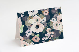Floral card set - stationery set - Khristian A. Howell