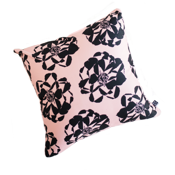 Weekend Blooms Throw Pillow (with or without insert)