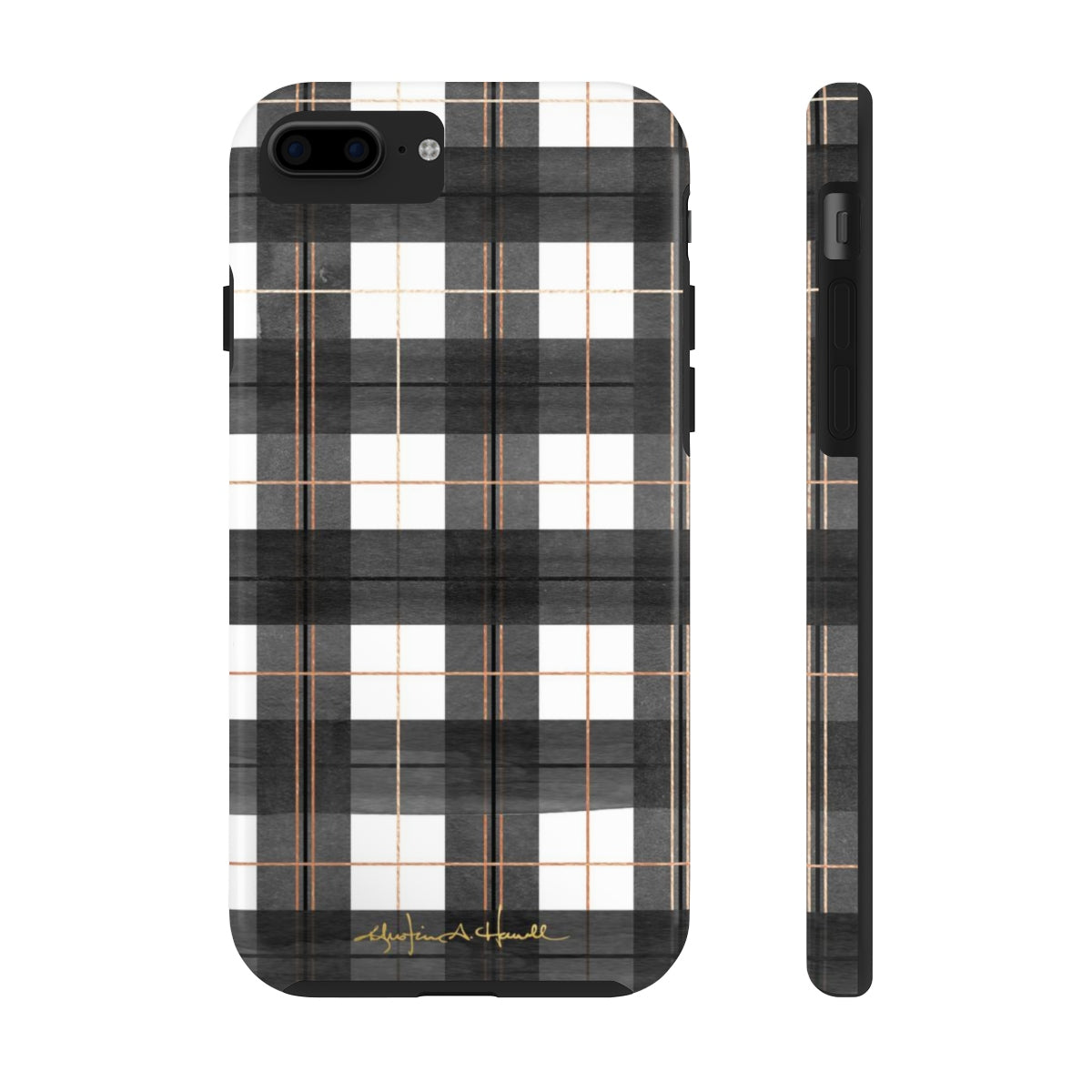 Buffalo Plaid Added Amour Phone Case