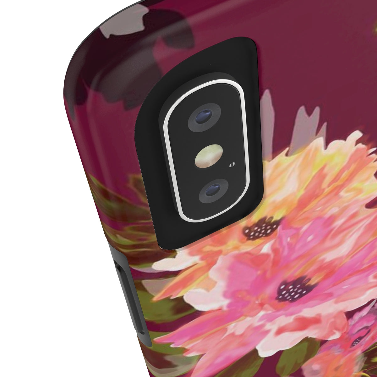 Analucia Merlot Added Amour Phone Case