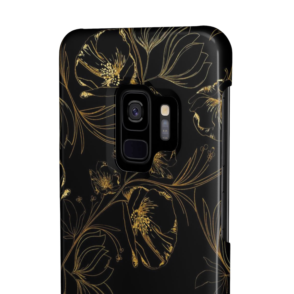 Ansley Park Black Sleek and Chic Phone Case