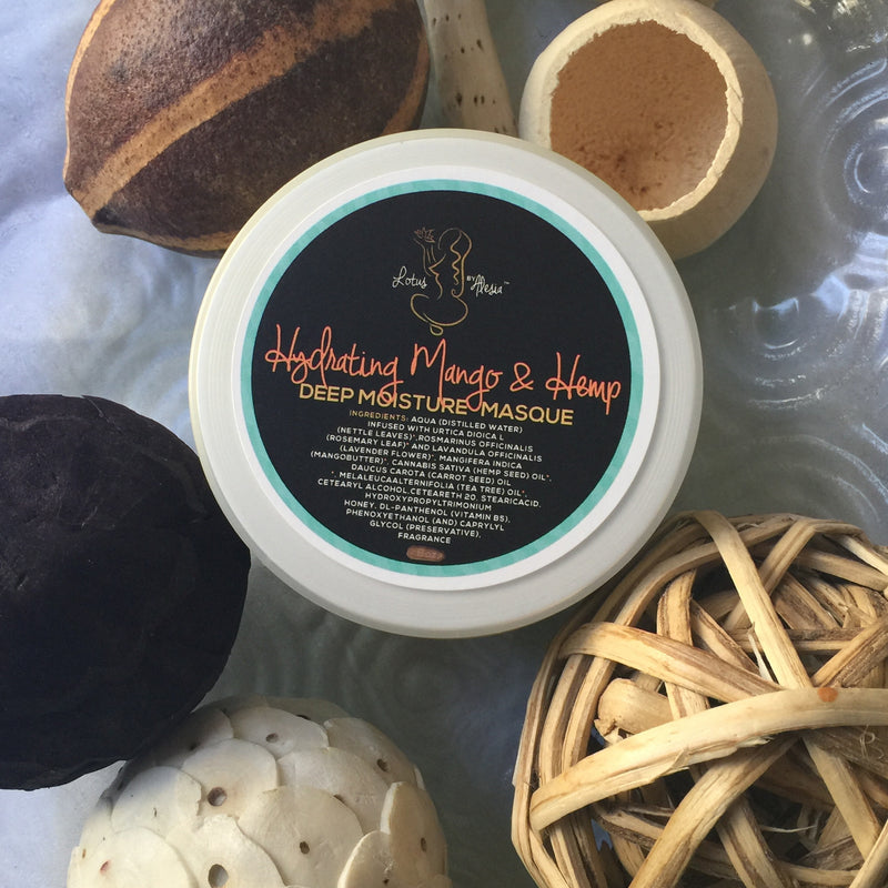 Hydrating Mango & Hemp Deep Moisture Masque