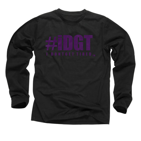 iDGT Black Purple Long Sleeve