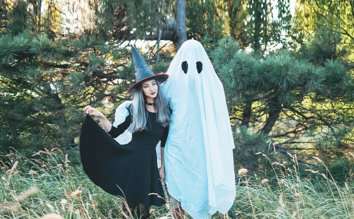 reuse old sheets with these 6 diy halloween costumes - sol organics